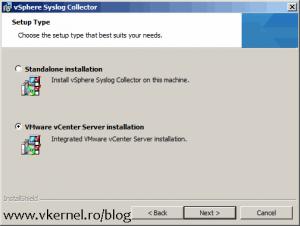 Install-Configure VMware vSphere Syslog Collector-05