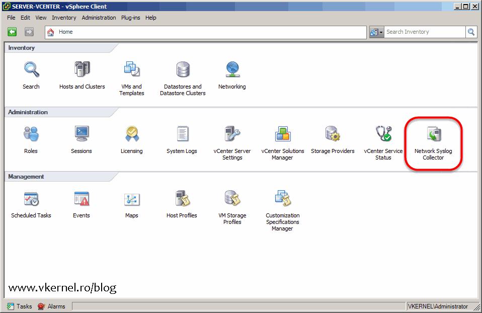 Install-Configure VMware vSphere Syslog Collector-15