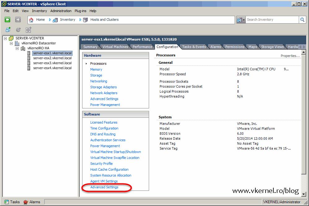 Install-Configure VMware vSphere Syslog Collector-18