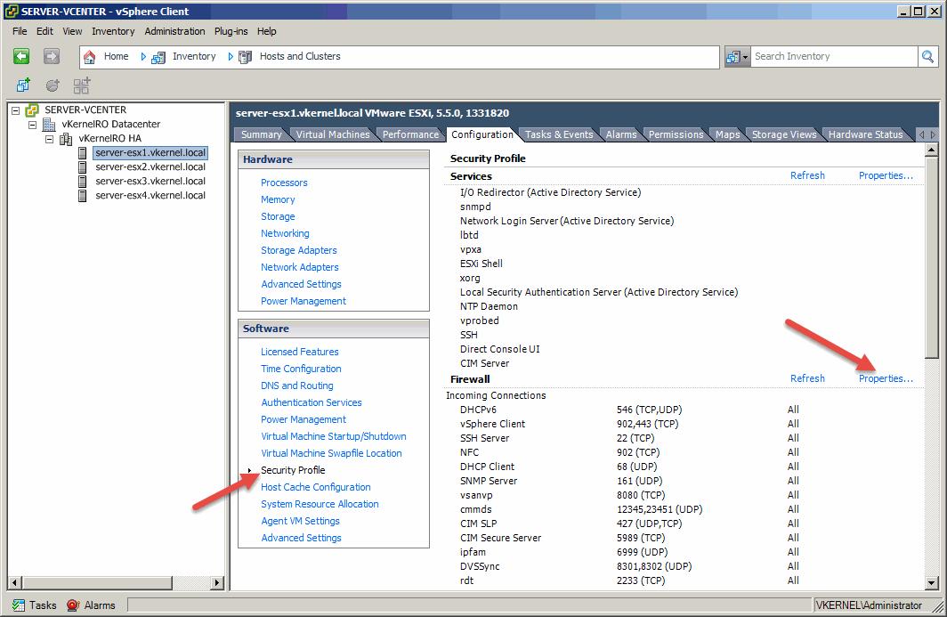 Install-Configure VMware vSphere Syslog Collector-20