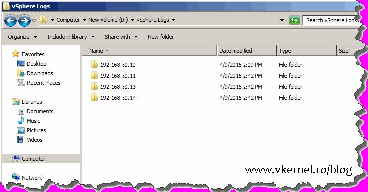 Install-Configure VMware vSphere Syslog Collector-23