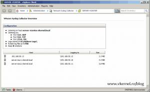 Install-Configure VMware vSphere Syslog Collector-25