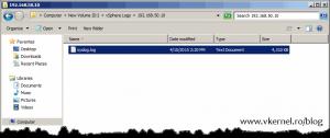 Install-Configure VMware vSphere Syslog Collector-26