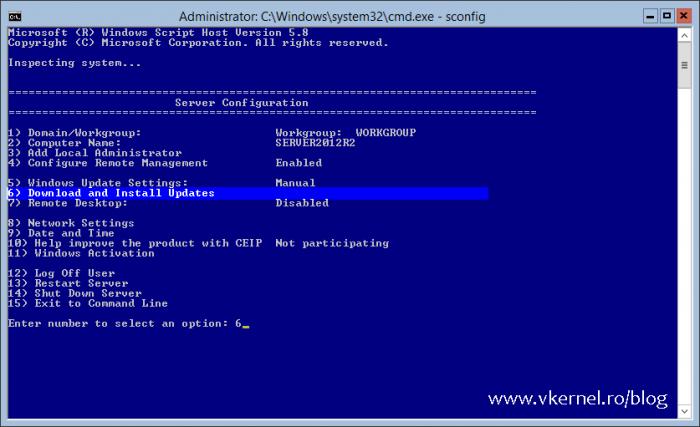 Installing Updates on Windows Server Core-02